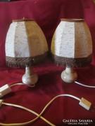 Onix asztali lámpa pár 29 cm ónix test mérete 12,5 cm