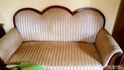 Biedermeier stílusú kanapé