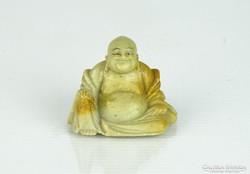 0L545 Kisméretű márvány nevető buddha szobor