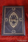 Klasszikus arany bibla 1902 - 2 kötetes, HATALMAS BIBLIA