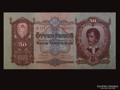 50 PENGŐ - PETŐFIBANKÓ - NYOMDATISZTA