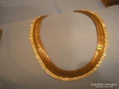 U3 Kleopátra nyakék collié,ötvösművésztől