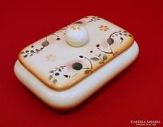 Zsolnay antik porcelán doboz