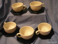 5 személyes kávés-teás Lillien Porcelán