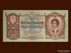 50 PEGŐS - NAGYON SZÉP PETŐFI BANKÓ KIVÁLÓ ÁLLAPOTBAN