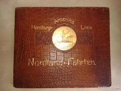 A Hamburg–Amerika Linie Gőzhajózási R.T. reklámalbuma.