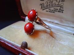 Antik ritka gyűrű:gyémánttal.Gyűjtőknek.