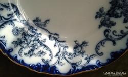 Antik fajansz cauldon tányér
