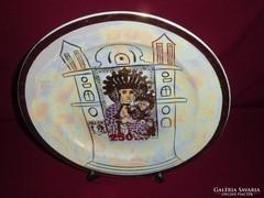 II.János Pál Pápa emlékére. 24k. arannyal futatott dísztényé