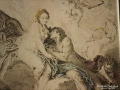 Francois Boucher (1703-1770) : Aurora et Céphale