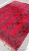 Afgán kézi csomózású Perzsa szőnyeg