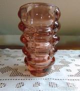 Gyönyörű vastag üveg váza