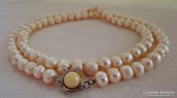 Szépséges antik gyöngy nyaklánc