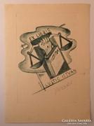 Ex libris - Olmedo Mezzoli