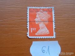ANGOL 1 ST (60 PENCE?) II. ERZSÉBET KIRÁLYNŐ 61.
