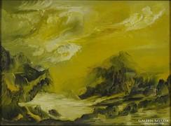 0M126 Ősz L. jelzéssel: Vihar a hegyek között