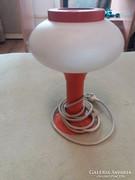 Retró ufó formájú asztali lámpa