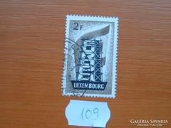 """LUXEMBURG 2 FRANK """"EUROPA"""" SOR RÉSZE 109."""