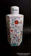 Nagy Herendi OC / Oriental Garden fedeles váza / teafű tartó