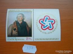 ROMÁNIA 2,75 LEI FESTMÉNY 1776-1996 137.