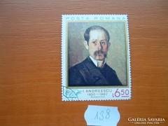 ROMÁNIA 6,5 LEI FESTMÉNY 138.
