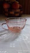 Rózsaszín  teás csésze