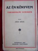 Dedikált!Jász Géza: Az én könyvem. Társadalmi lexikon