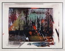 Bukta Imre (1952 -): Lengyelországi tájkép, 1982