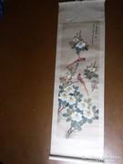 Kínai akvarell tekercs,