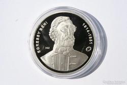 Egressy Béni ezüst emlékpénzérme