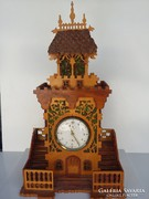 VILÁGHÍRŰ prágai városháza (Orloj) ihlette óra csoda - 50 cm