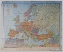 Európa térkép, 1943