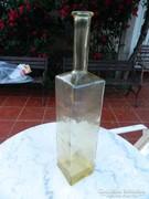 Nagy sárga díszüveg - hatalmas üveg