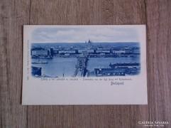 Budapest Látkép a kir. palotáról és lánchíd