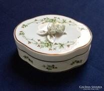 Hollóházi porcelán bonbonier hibátlan,szép új állapotban ela