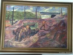 Szigethy István, aukción szerepelt, o-v