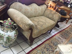 Antik barokk sofa 160x72x50cm