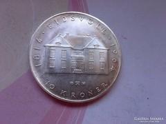 1964 ezüst 10 korona 20 gramm 0,900