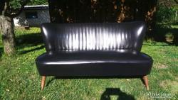 Retro sky műbőr mini kanapé a 60-as évekből eladó 121 cm
