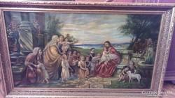 Csodálatos óriás méretű festmény