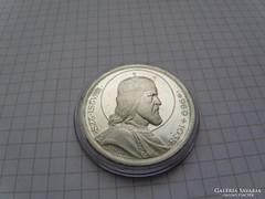 Szent István 5 pengő 1938. ezüst, 0,640 ag. gyünyörü RR! (7)