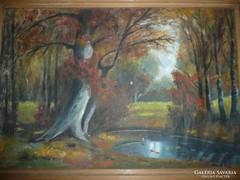 Horkay György szép festménye eladó 54*40 cm
