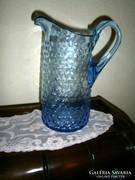 Antik  bütykös üveg kancsó