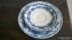 Cauldon tányérok Hüttl Tivadar behozatali pecséttel