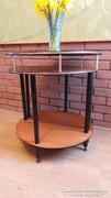 Jó minőségű Retró félkör alakú asztalok, konzol