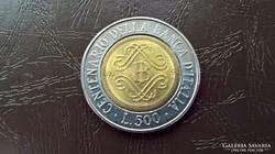 Olaszország 500 líra 1993.