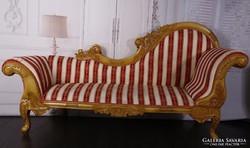 Barokk szofa 200x70x110x55cm