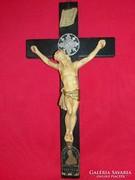 Antik megszentelt Vatikáni kereszt 1936. XI. PIUS által 28cm