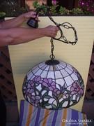 Tiffany, mennyezeti lámpa, csillár