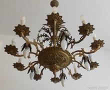 Gyönyörű Rococo stílusú 15 izzós csillár.